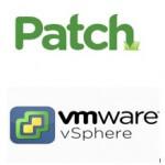 Как скачать нужный патч для vmware vsphere