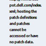 Ошибка hosting the patch definitions and patches cannot be accessed or have no patch data. Check the Internet connectivity в ESXI 5.5