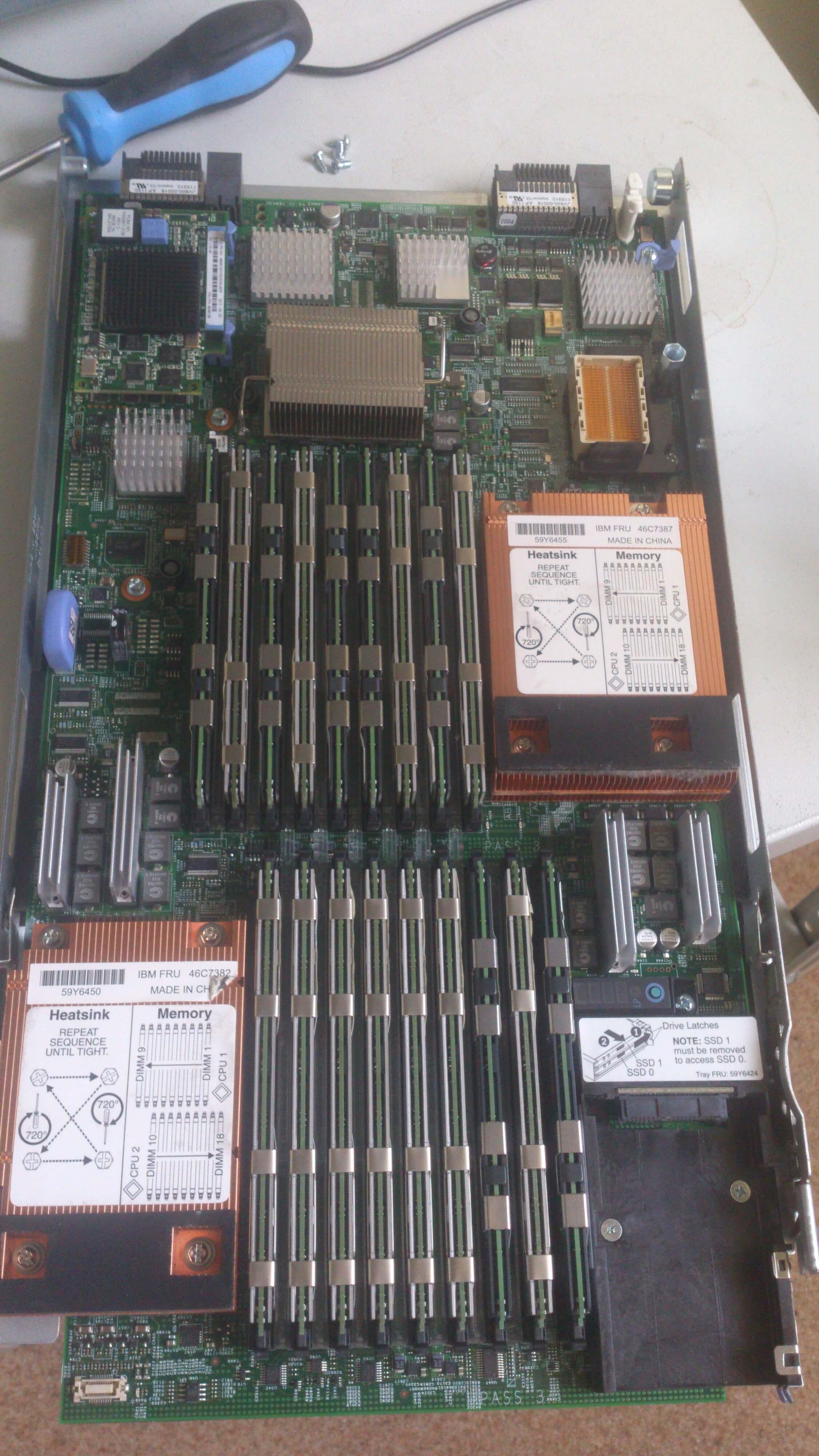 установка планки оперативной памяти