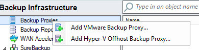 veeam proxy в Veeam Backup & Replication 7-02