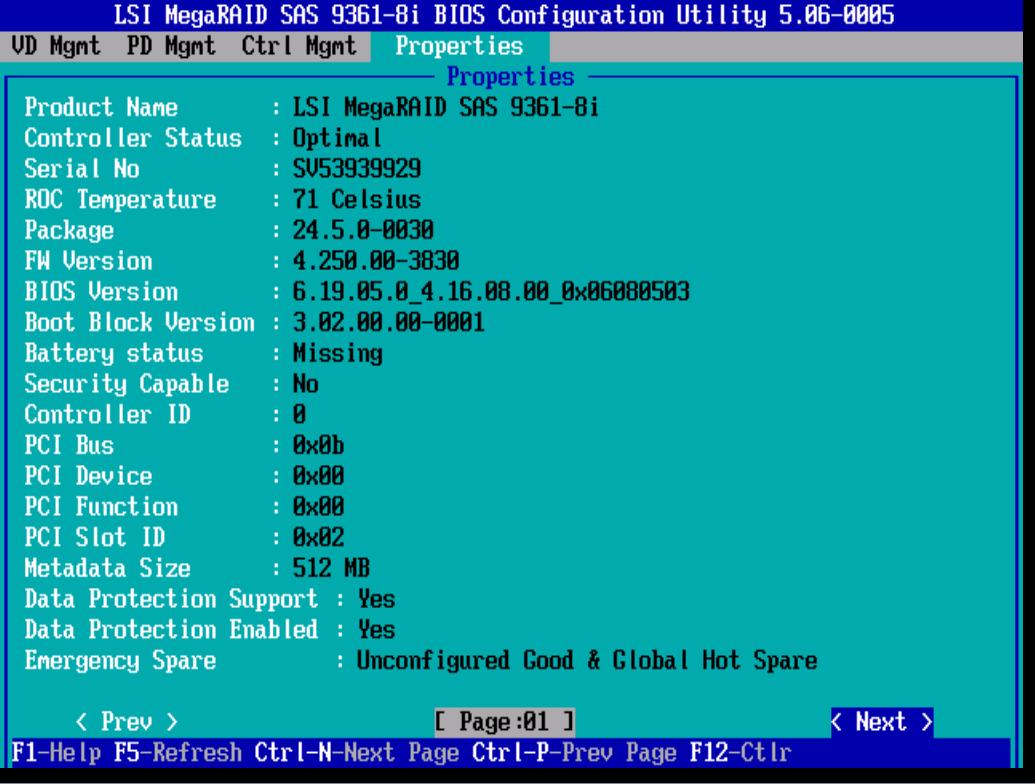 Дополнительные настройки LSI 9381 8i. 3 часть-01