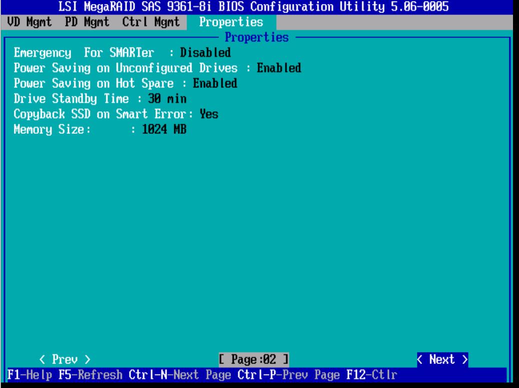Дополнительные настройки LSI 9381 8i. 3 часть-02