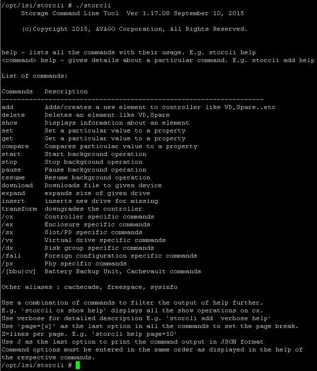 Как установить StorCLI в Vmware ESXI 5.5-04