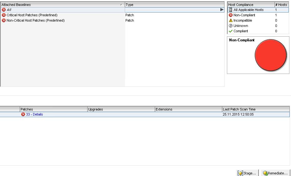 Ошибка The host returns esxupdate error code 99 при обновлении VMware ESXI 5.5-09