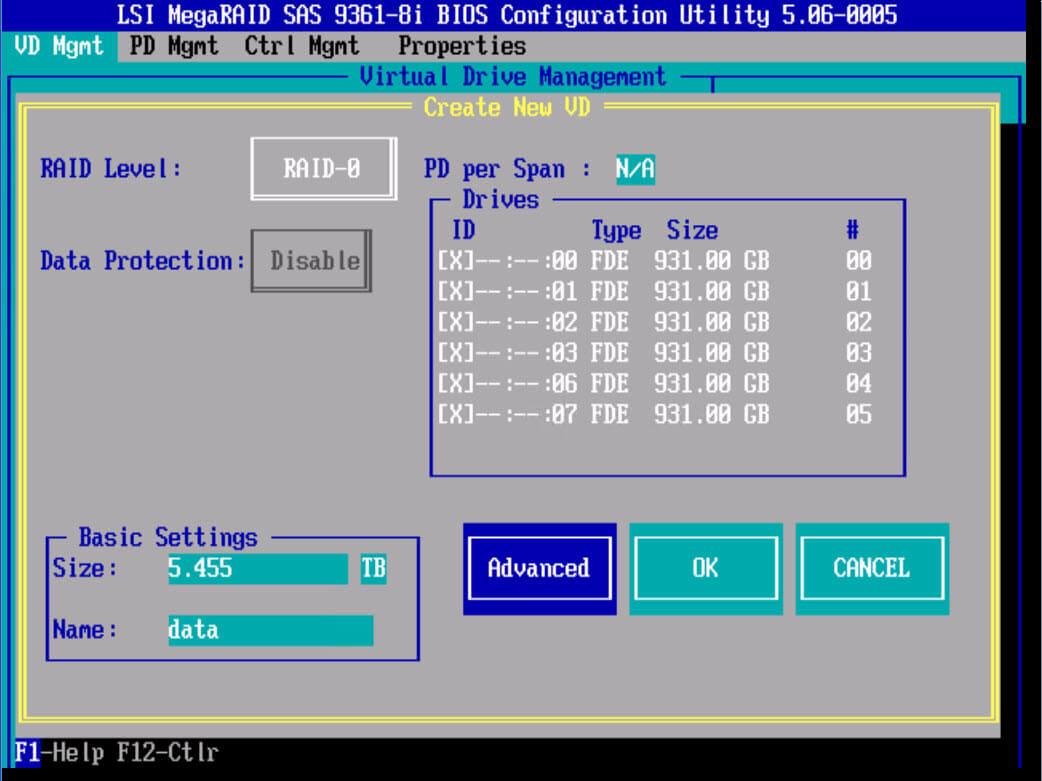 RAID-0 LSI 9381 8i