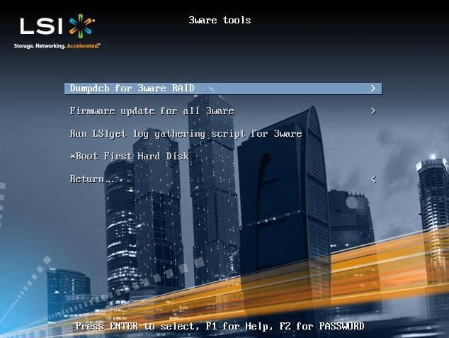 Скачать LSI PreBoot CD-03
