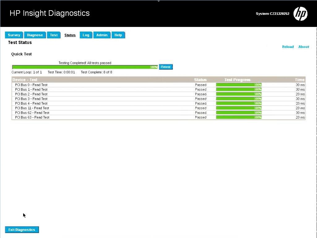 тестирование PCI Bus