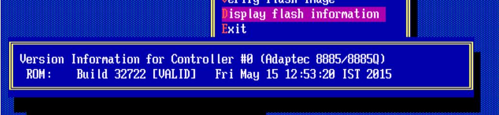 Как обновить BIOS у Adaptec-17