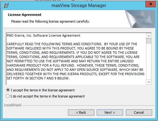 Мониторинг raid adaptec 8885-03