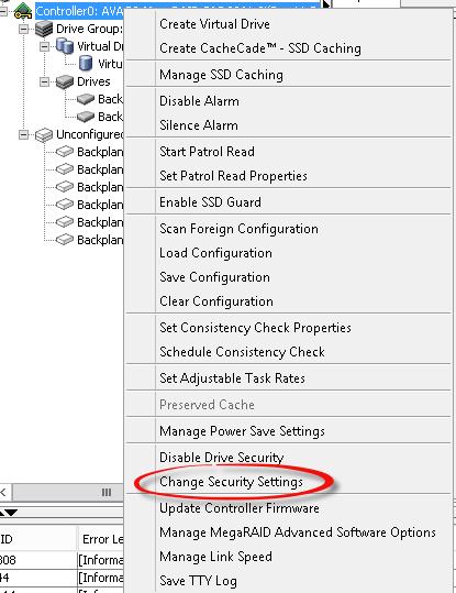 Security key identifier