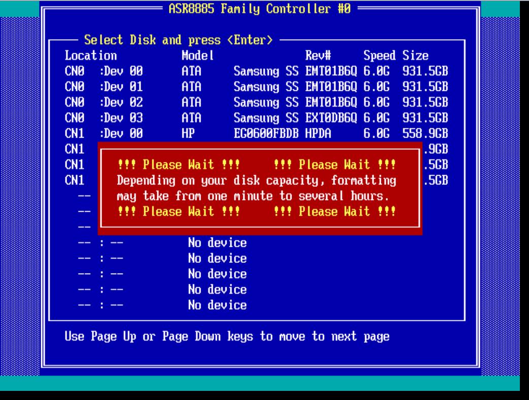 raid диск форматирование-2