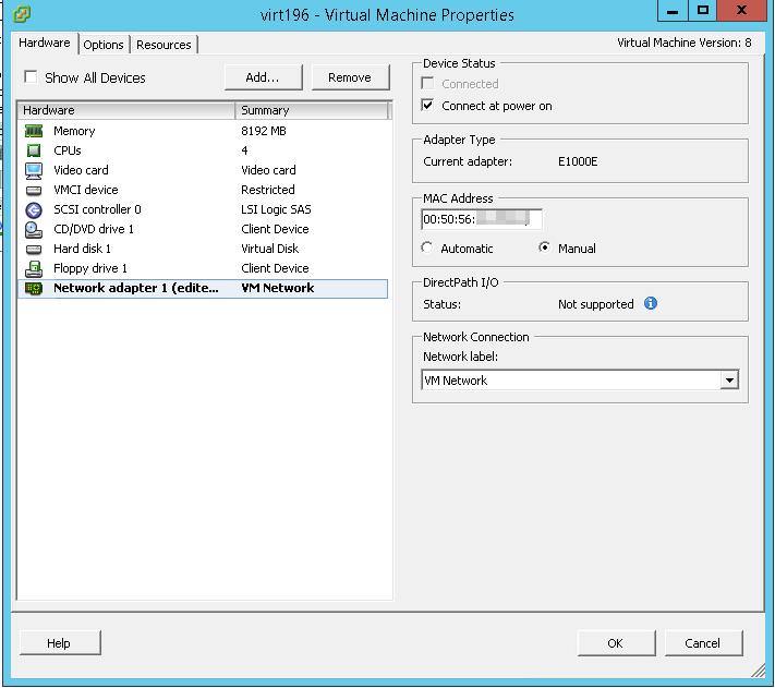 виртуальная машина настройка mac