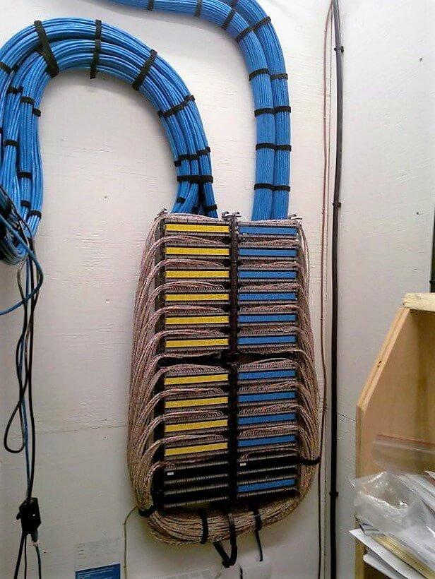 крепления для укладки кабеля