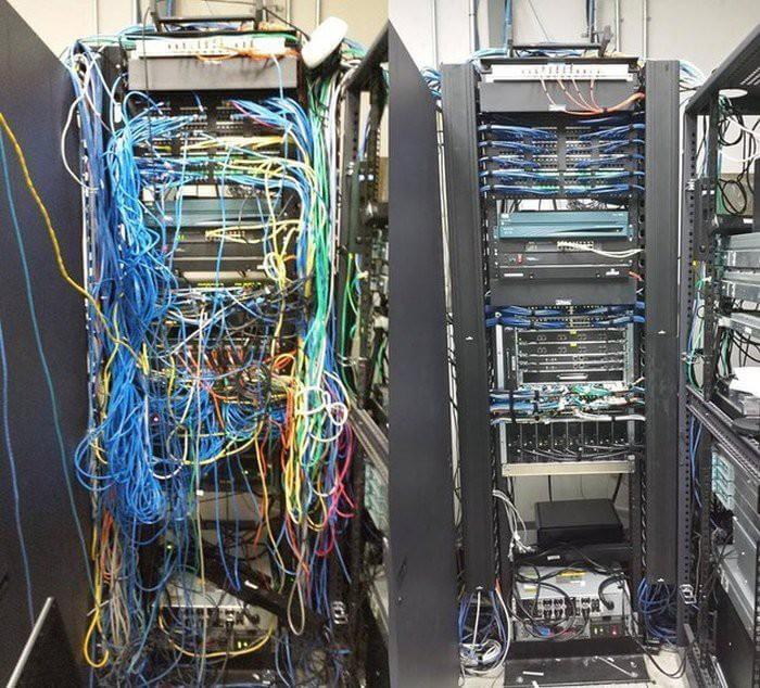укладка кабелей +на лоток