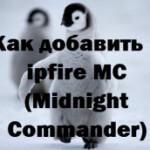 Как добавить в ipfire MC (Midnight Commander)