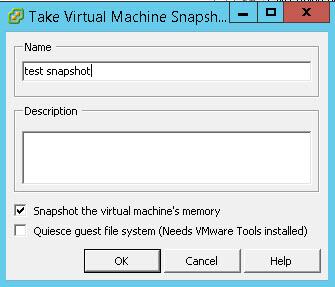 Как задать месторасположение снапшотов виртуальной машины Vmware ESXI-07