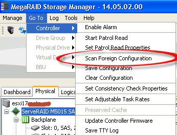 Восстанавливаем lsi raid при замене диска | Настройка серверов