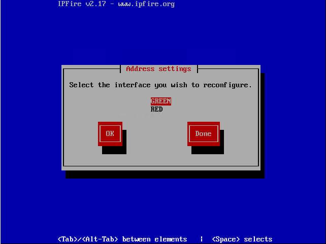 настройка сети ipfie-10