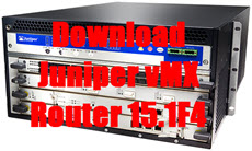 Download Juniper vMX Router 15.1F4