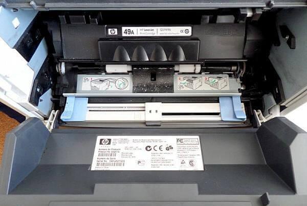HP LJ 1320 принтер печатает белые листы-1