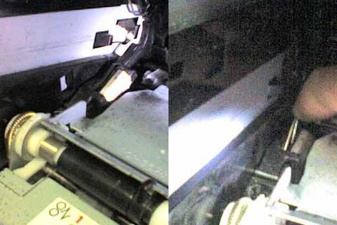 HP LJ 1320 принтер печатает белые листы