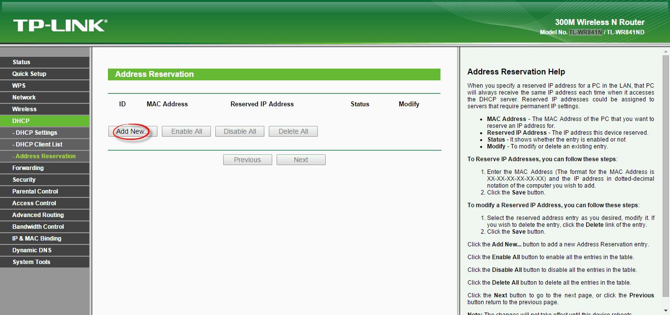 Как настроить wifi роутер tl wr841n-10