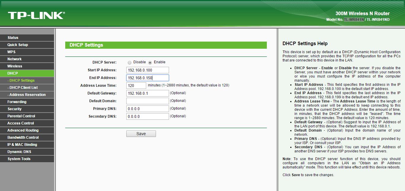 Как настроить wifi роутер tl wr841n-8