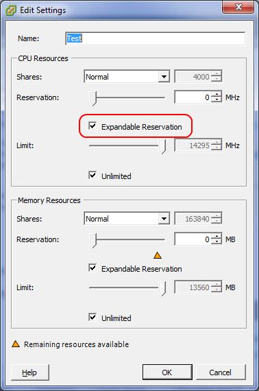 Как ограничить ресурсы виртуальной машины Vmware ESXI 5.5-9