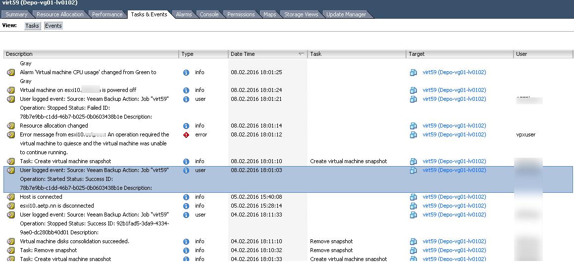 Пропала виртуальная машина vmware-4