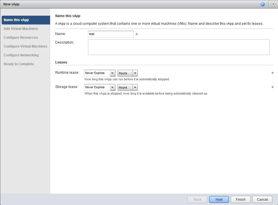 vCloud Director как создать виртуальную машину в нем-2