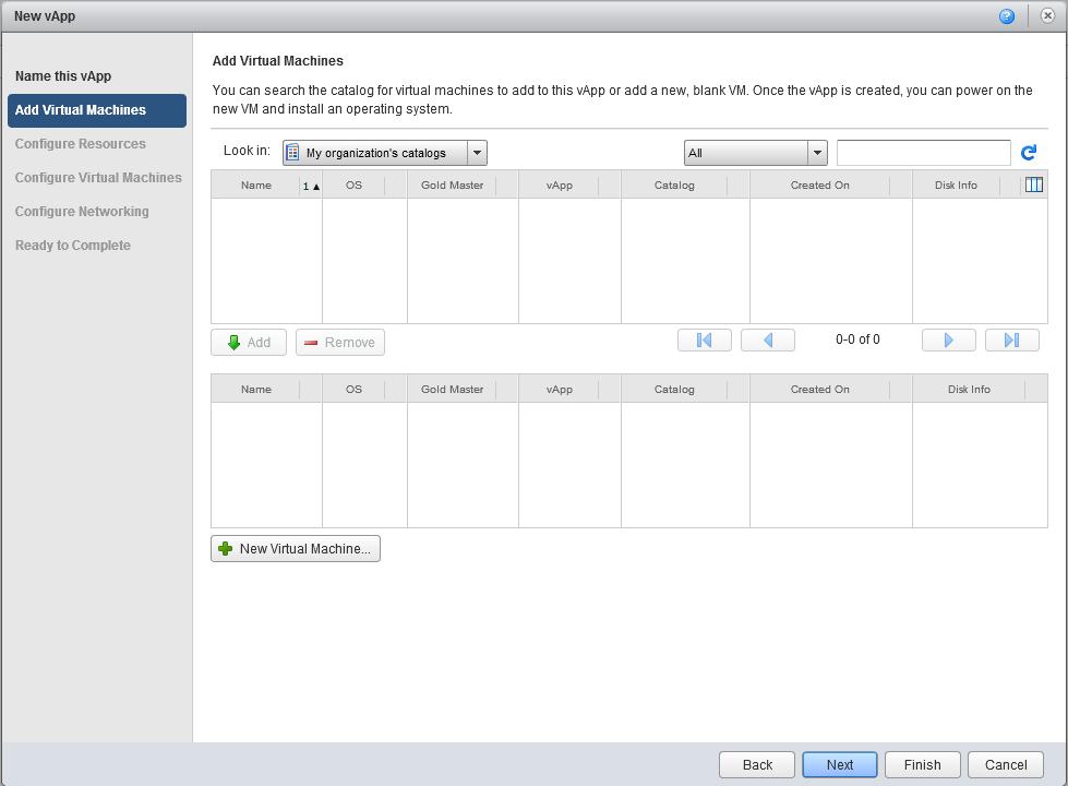 vCloud Director как создать виртуальную машину в нем-3