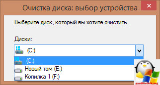 Очистка диска с дополнительными опциями в Windows 8.1-2