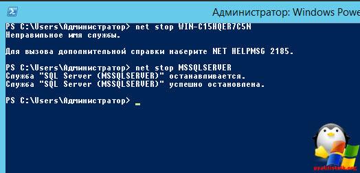 Сменить пароль sa в монопольном режиме-01