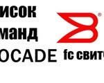Список команд Brocade fc свитчей