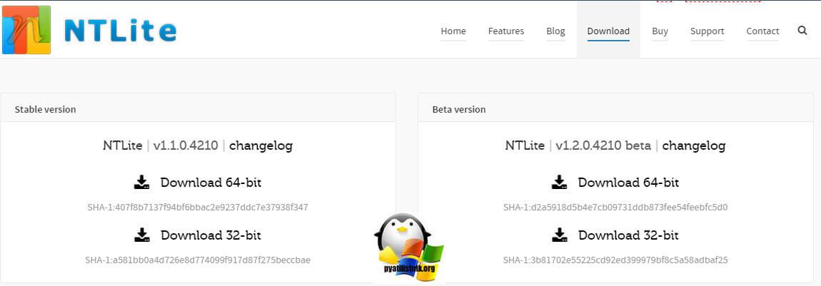 Добавить драйвера в образ windows 7 с помощью NTLite