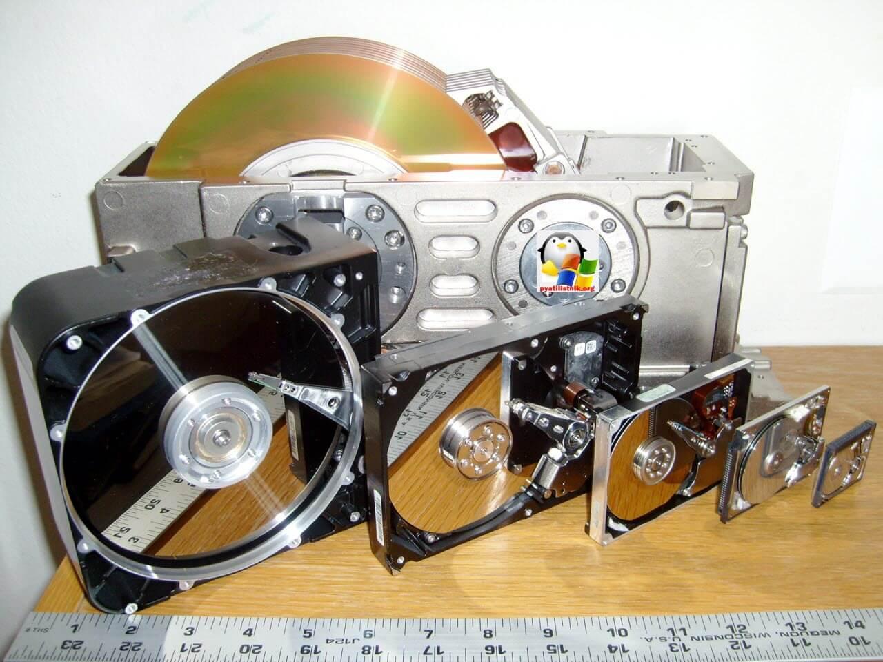смерть жестких дисков