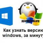 Как узнать версию windows, за минуту
