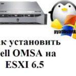 Как установить Dell OMSA на ESXI 6.5