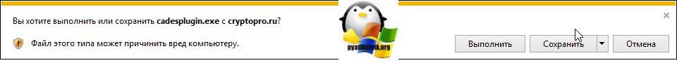 Установка КриптоПро ЭЦП Browser plug-in-02