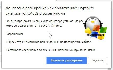 Установка КриптоПро ЭЦП Browser plug-in-07