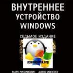 Скачать Внутреннее устройство Windows, 7-е издание (2018)