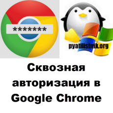 SSO Google Chrome