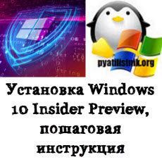 Windows 10 Insider Preview logo